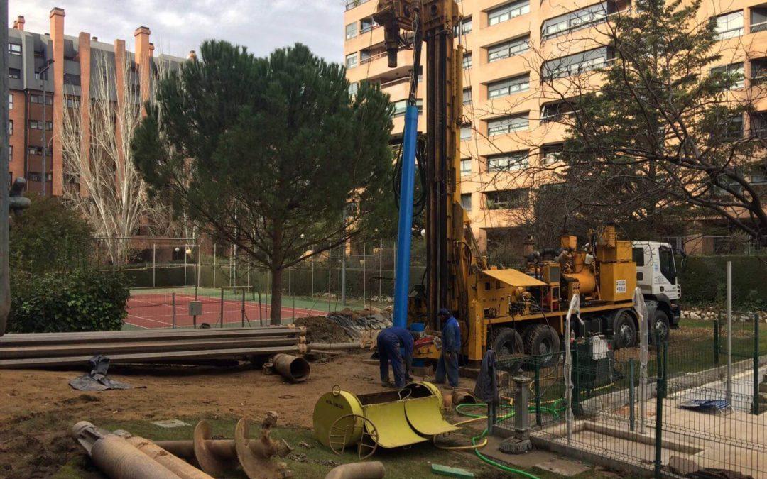 pozos de agua en comunidades de vecinos Madrid